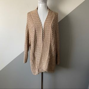 Massimo Dutti S Oversized Cozy Open Front Sweater